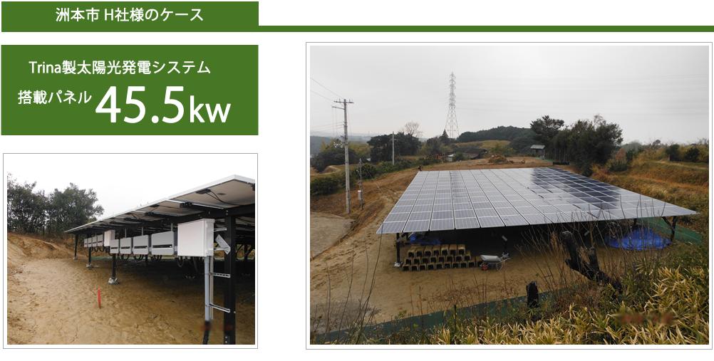 その他空き地やガレージ屋根の設置事例