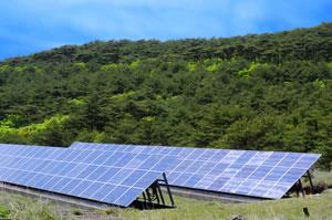 産業用太陽光発電を空いている土地へ